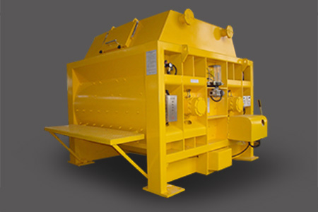 SICOMA Double Shaft Concrete Mixer
