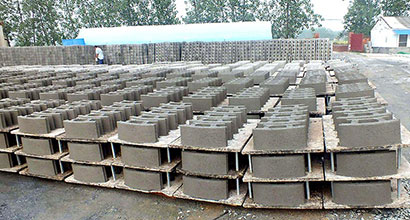 Concrete Block Making Plant