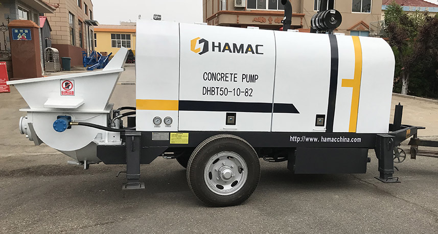HBT/DHBT series Concrete Pump