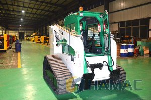 TS125 Crawler skid steer loader in Southeast Asia