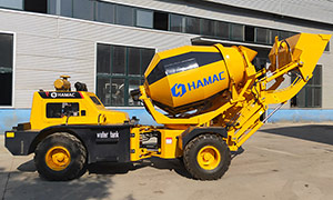 HMC150 Self-loading Concrete Mixer