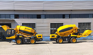 HMC350 Self-loading Concrete Mixer