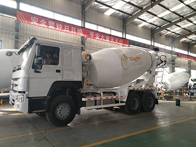2 units of 10 m3 transit mixer trucks are delivered to South Africa