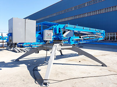 TWO UNITS OF HGY15 CONCRETE PLACING BOOM WAS DELIVERED TO EUROPE