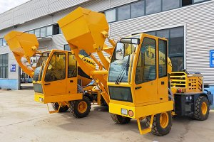 HMC150 self loading concrete mixer in Oman