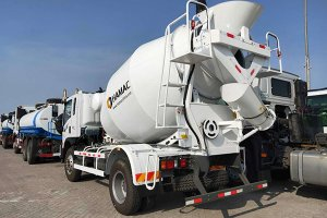 6m3 concrete transit mixer truck in Ghana